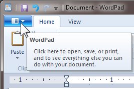 WordPad-BUTTON