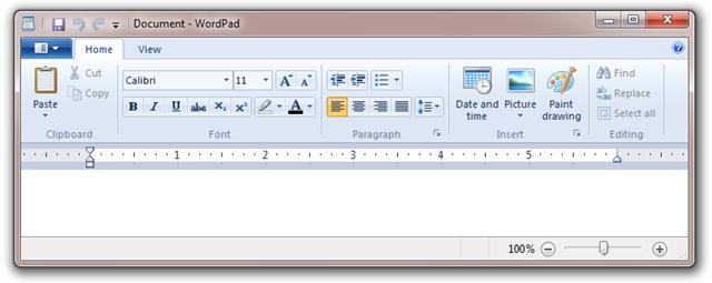 wordpad 2007