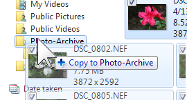 Organizing photos in batches with Windows Live Photo Gallery (5/6)