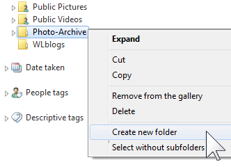 Organizing photos in batches with Windows Live Photo Gallery (1/6)
