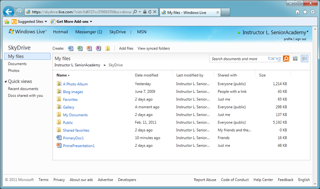 SkyDrive Folders, Albums, Files and Photos – making a little bit of sense (4/6)