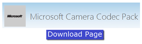 download Microsoft Camera Codec