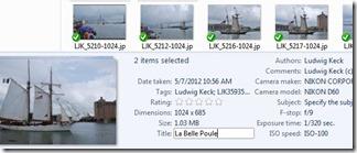 Adding metadata to SkyDrive file