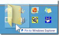 pinning a folder